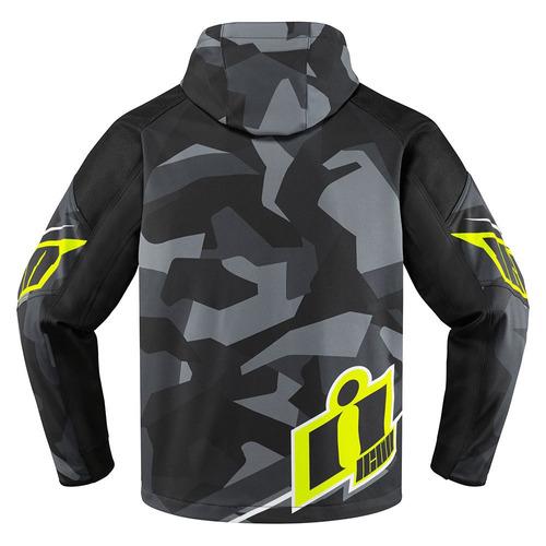 chaqueta icon merc deployed textil hombre gris/camuflado 4xl