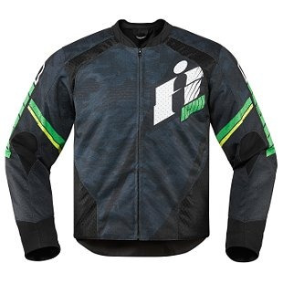 chaqueta icon overlord primary para hombre textil verde sm