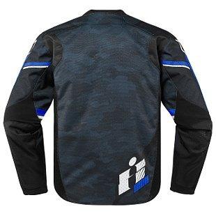 chaqueta icon overlord primary tela azul p/hombre xl