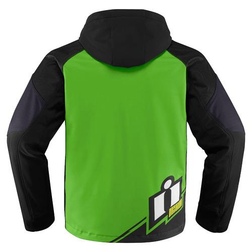 chaqueta icon team merc para hombre verde  xl
