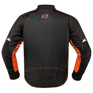 chaqueta icon wireform hombres naranja md