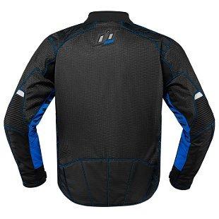 chaqueta icon wireform para hombres azul xl