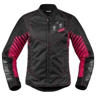 chaqueta icon wireform para mujer rosa xl