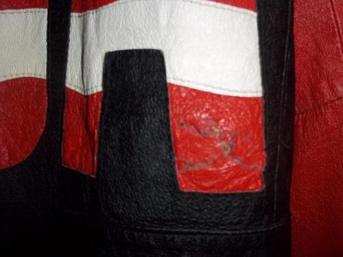chaqueta imitacion  de cuero