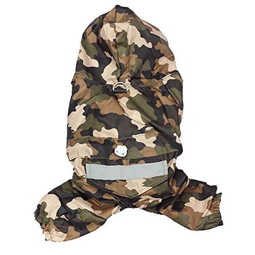 chaqueta impermeable capas dobles s_ssoy perrito perro de m
