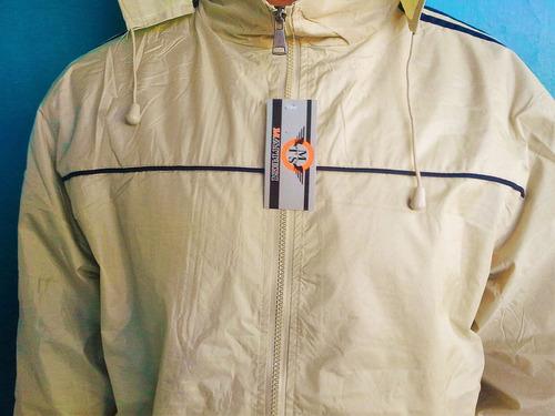 chaqueta impermeable capucha motorizado escolta funcionarios
