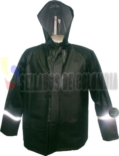 chaqueta impermeable moto cal18, no desechable, 2 obsequios.