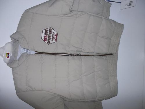 chaqueta impermeable polito