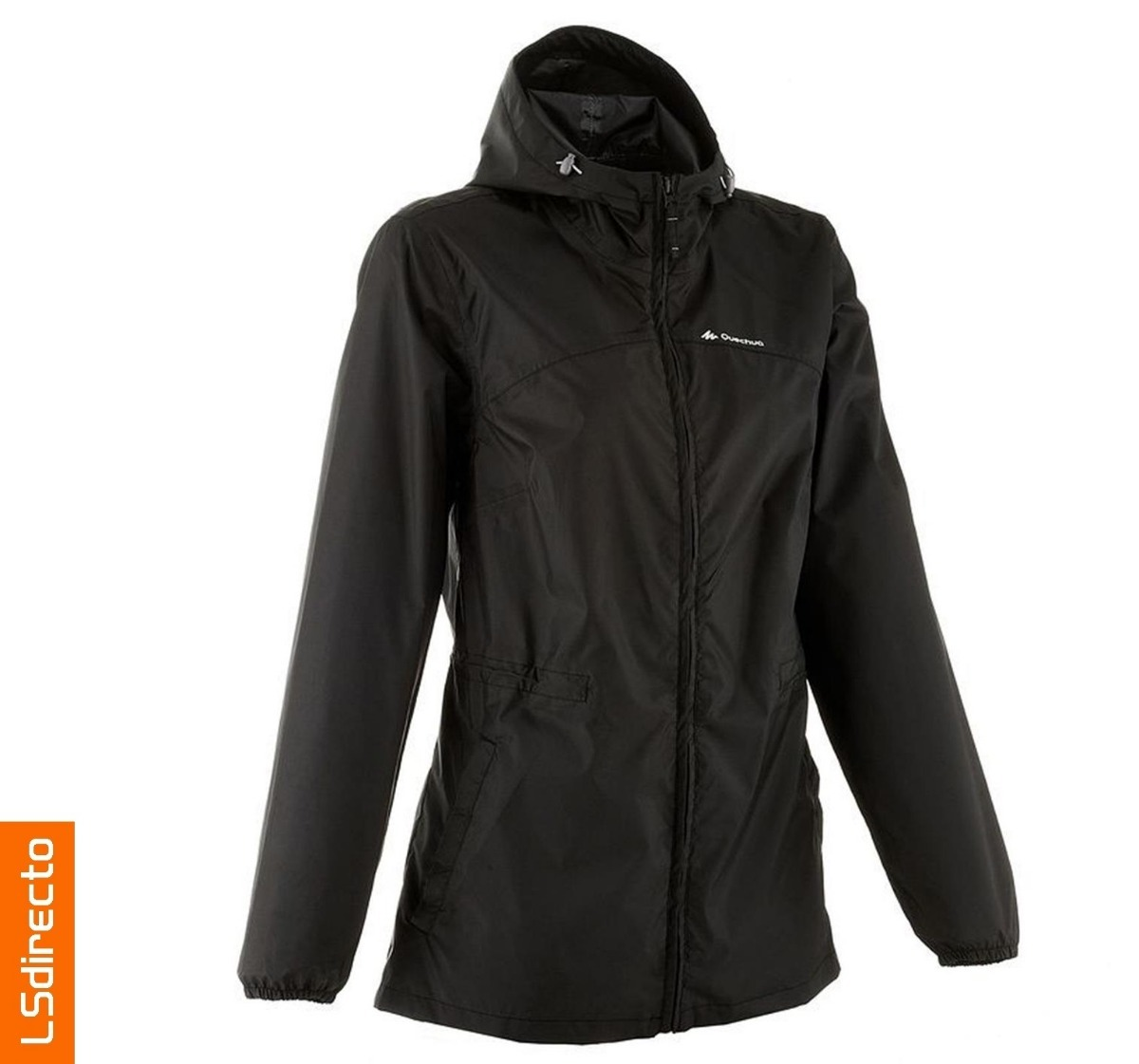 Chaqueta impermeable quechua mujer