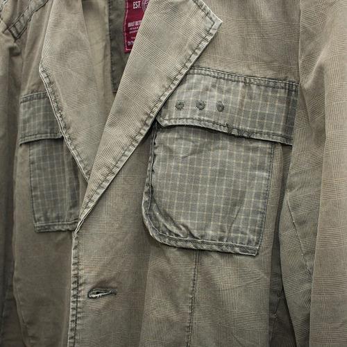 chaqueta jack&jones talla l drill, poco uso, perfecto estado