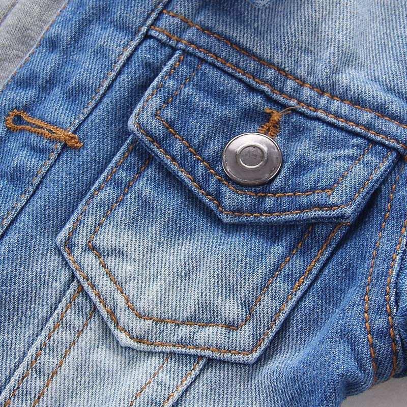 2c1130e26 chaqueta jeans con capucha niño boys wash denim jacket hoodi. Cargando zoom.