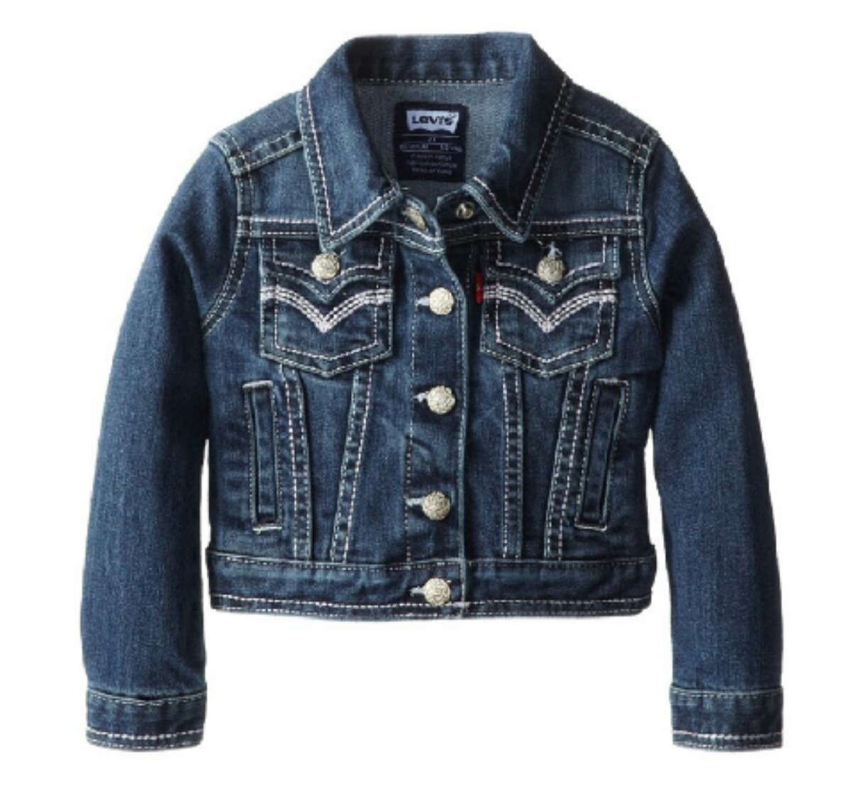 chaqueta jeans niñas marca levis original importada. Cargando zoom. f6bedd79f5e7