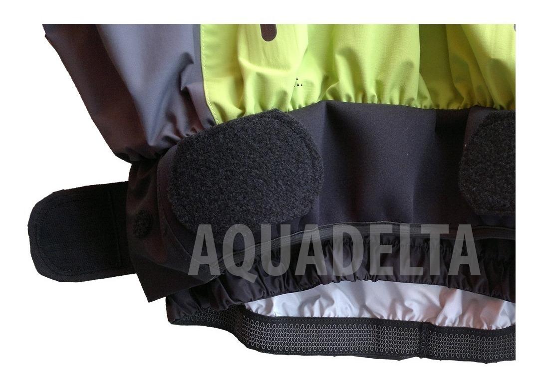 Chaqueta Kayak Seca Cabron Freeky 100% Impermeable Blancas