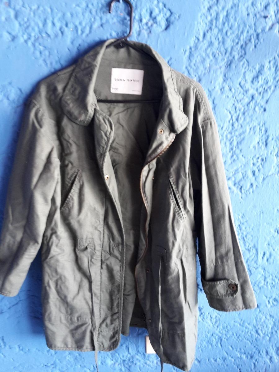 Chaqueta 00 Bs20 Usada Basic 000 Zara Larga vf7yYbg6