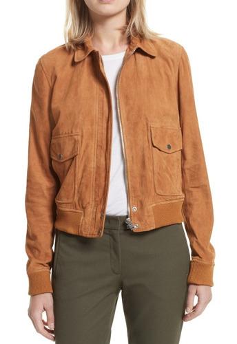chaqueta ligera de gamuza marca joseph  talla eur 40