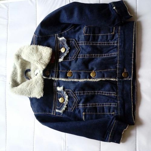 chaqueta mezclilla bebé nueva