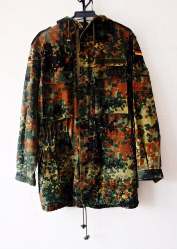 chaqueta militar camuflado alemania flecktarn original