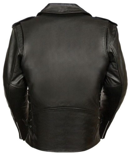 chaqueta milwaukee estilo policía m/c para hombre negra md