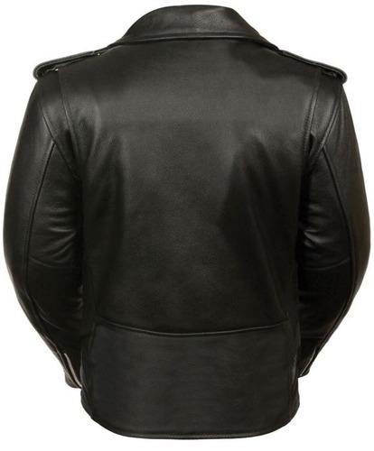 chaqueta milwaukee para mujer clásica m/c negra md