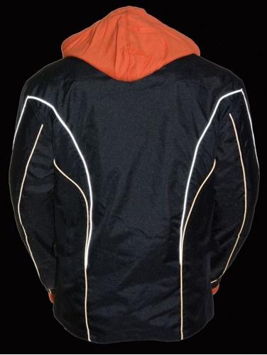 chaqueta milwaukee p/damas c/cuello levantado y conducto 2xl