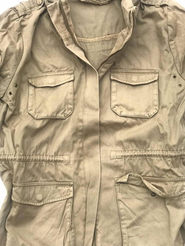 chaqueta modelo militar m65 h&m