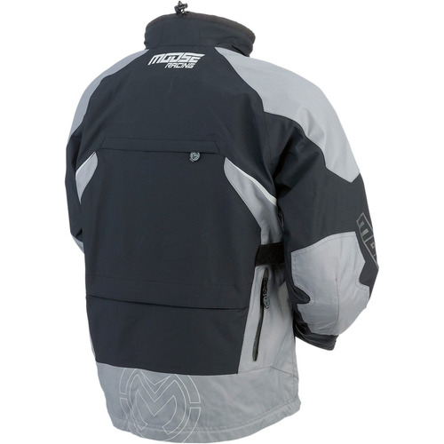 chaqueta moose racing expedition dual sport negro/gris 3xl