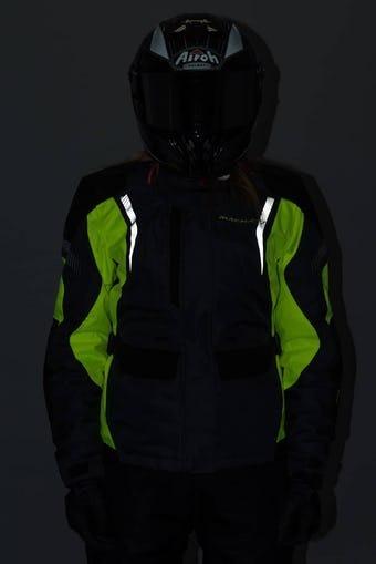 Impermeable Mujer 100Macna Protección Beryl Chaqueta Moto Jlc31TFK