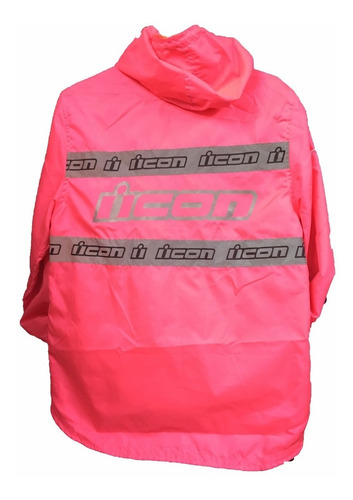chaqueta moto semi impermeable sport doblefaz cortaviento