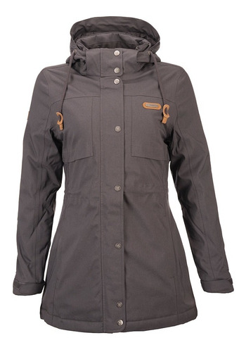 chaqueta mujer all cover b-dry hoody jacket grafito lippi