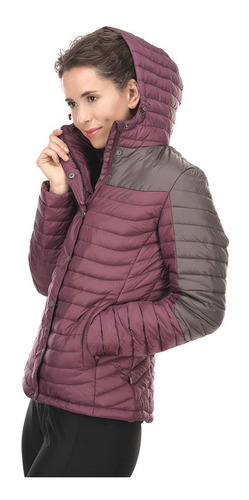 chaqueta mujer bewarm steam-pro hoody jacket laurel / grafit