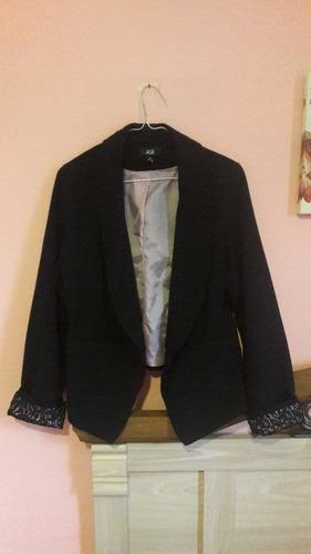 chaqueta negra agb