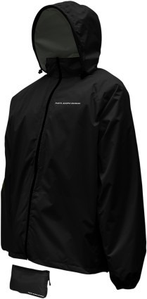 chaqueta nelson-rigg compacta para hombre, negra md