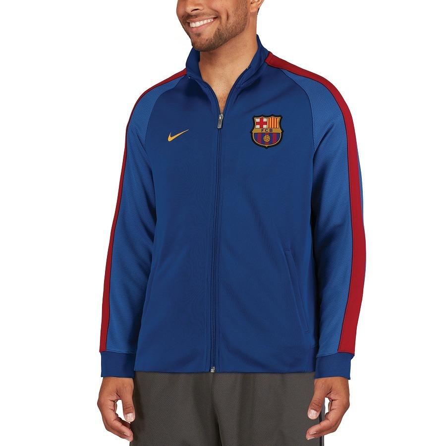 chaqueta nike fc barcelona authentic n98 - en stock-talla l. Cargando zoom. d55b882b5c0