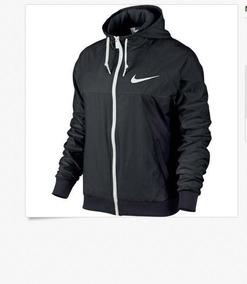 comprar en pies imágenes de en venta Chaqueta Nike Mujeres Windrunner Negro / Blanco 643085-010 M