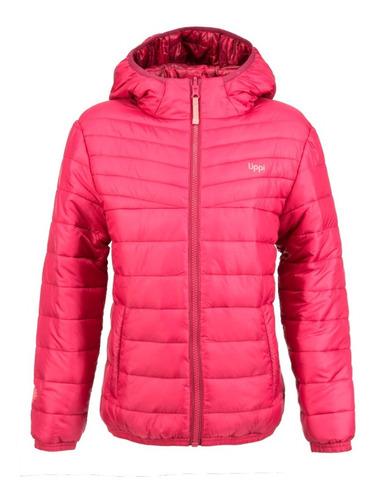 chaqueta niña bewarm 2-face hoody jacket frambuesa oscuro /