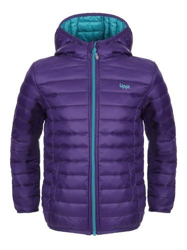 chaqueta niña bewarm steam-pro azul violeta lippi