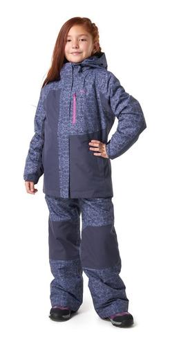chaqueta niña lippi andes snow b-dry jacket indigo i19