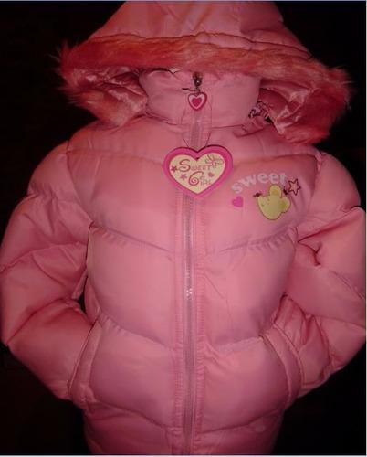 chaqueta niña niño frio infantil barbie sweter inviern