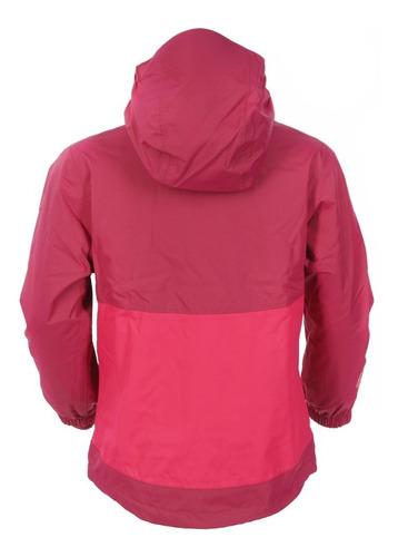 chaqueta niña snowball fusion-3 hoody frambuesa oscuro lippi