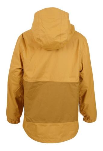 chaqueta niña snowball fusion-3 hoody mostaza lippi