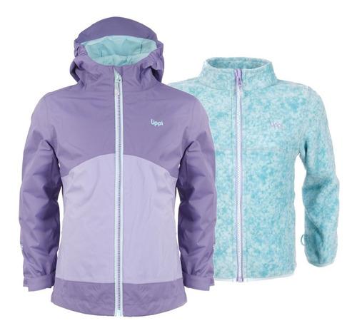 chaqueta niña snowball fusion-3 hoody print lippi