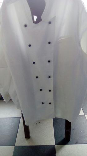 chaqueta o filipina de chef