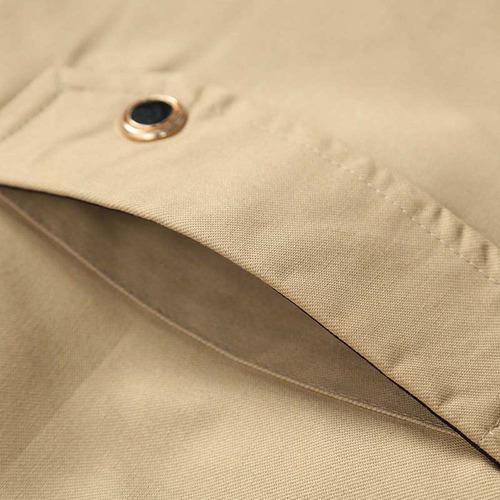 chaqueta ocasional caliente del algodón sólido para hombres
