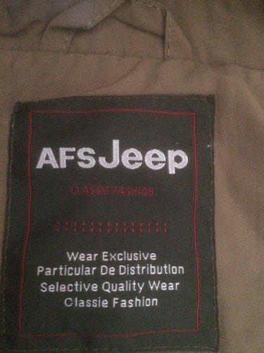 chaqueta out door jeep