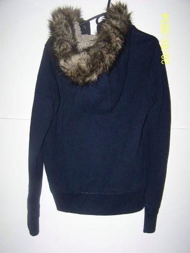 chaqueta ovejera buzo hollister