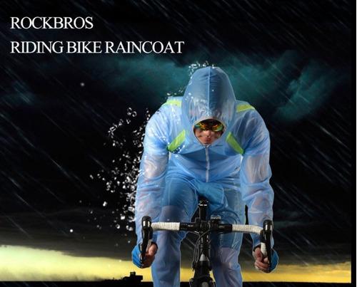 chaqueta+pantalón cortavientos rockbros impermeable deportes