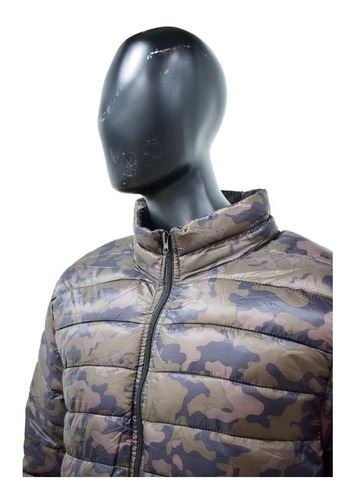 chaqueta para hombre informal / invierno camuflado 25732