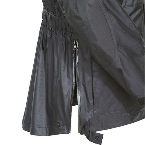 chaqueta para lluvia tourmaster sentinel le motor negra 2xl