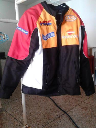 chaqueta para moto alta cilindrada modelo repsol