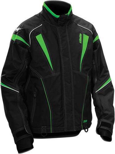 chaqueta para motonieve castle x racewear scout verde md